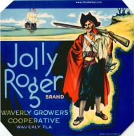 Jolly Roger Label - Waverly, Florida