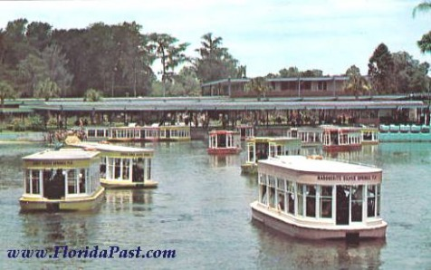 Famous Glass Bottom Boats - Silver Springs, Florida