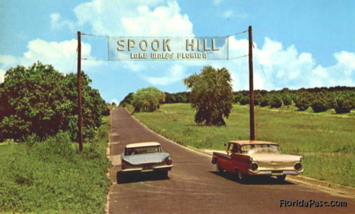 Click to Visit Spook Hill Now & Then