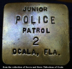 WANTED !!  INFORMATION ABOUT THIS FloridaPast Badge