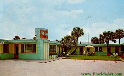 You might want to stay here, at the Sea Gate Motel in Daytona